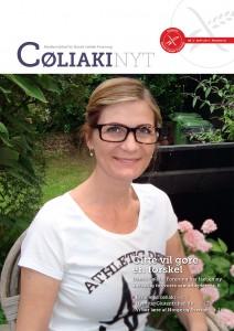 CøliakiNyt 3-2013 forside