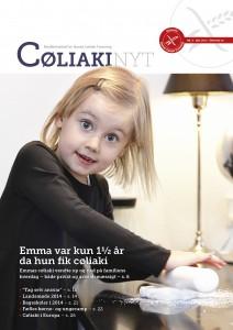 CøliakiNyt 4-2013 forside
